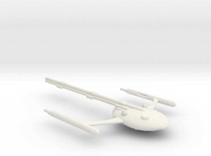 Large Modular Freighter Unloaded 3d printed