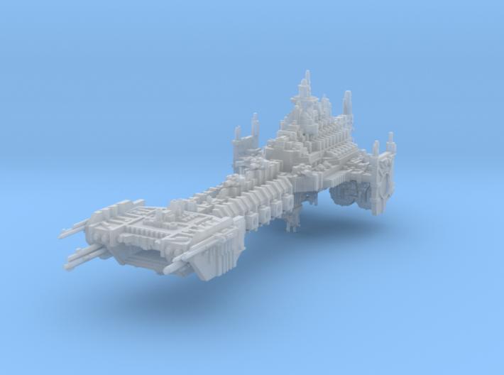 Battle Barge 3d printed