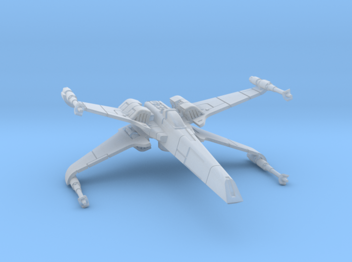 1/270 T-85 X-wing Fighter 3d printed
