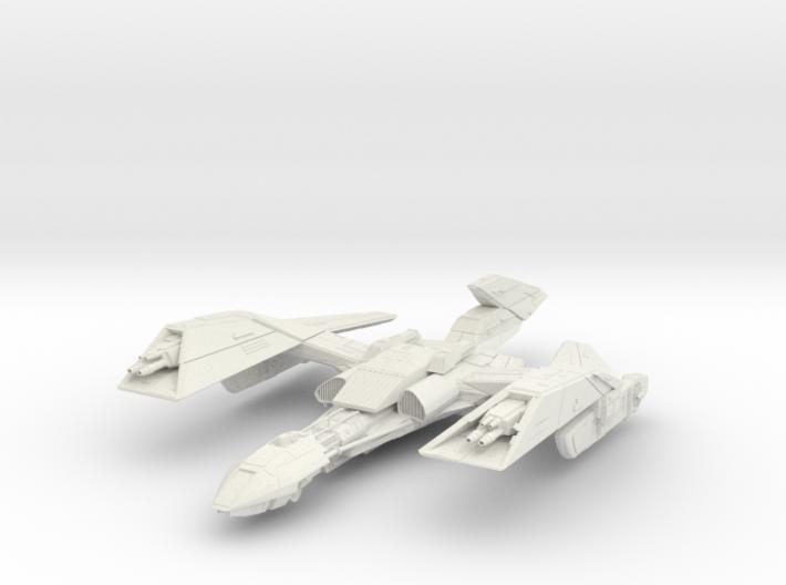 Klingon KaBar Class BattleCruiser 3d printed