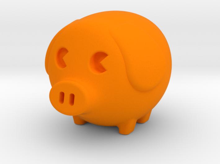 mini piggy 3d printed