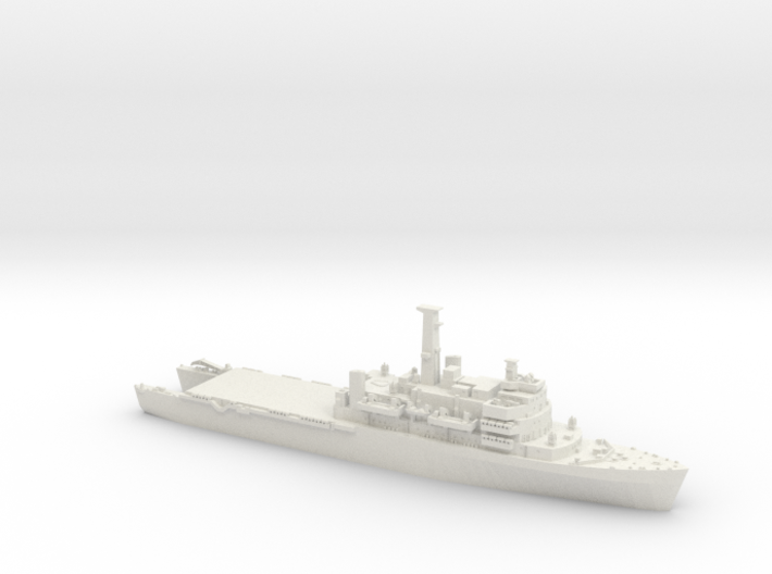 1/1250 HMS Fear open welldeck 3d printed