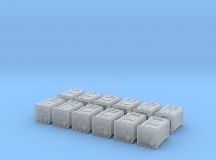 1/30 British Flimsies Can Set001 3d printed