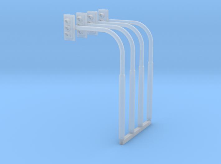 N 4x Ampel+Mast #2 3d printed
