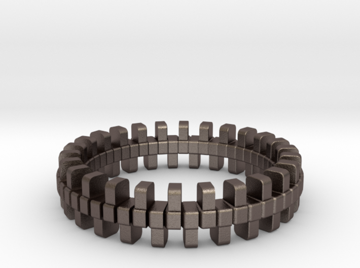 Tread Ring 3d printed