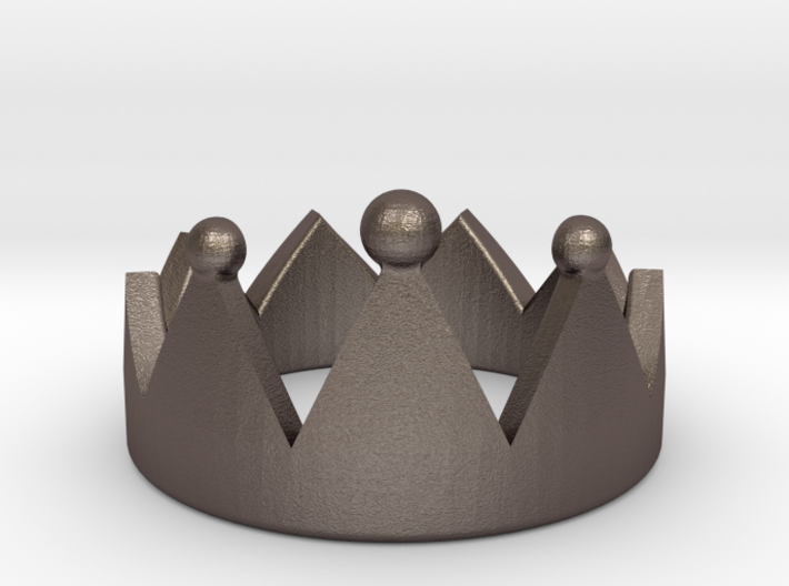 Crown Ring 3d printed