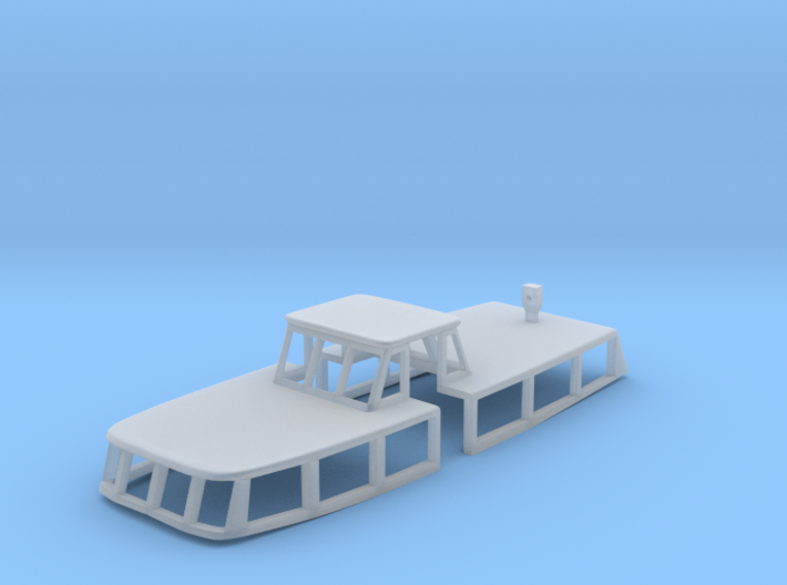 Superstructure 1/200 for Life Boat V07 3d printed