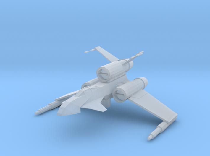Raven-class Bomber 3d printed