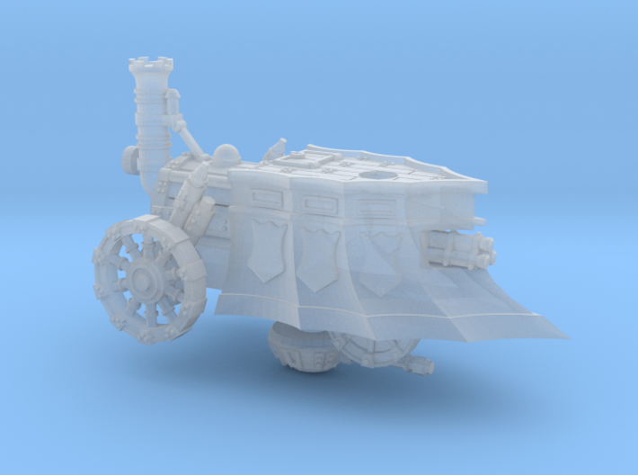 10mm Imperial Tri-Barrel Steam Tank (1pcs) 3d printed
