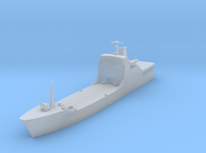 1/1800 Chinese Type 072A Landing Ship 3d printed