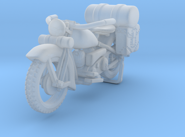 Outlaw Harley Davidson 1:120 3d printed
