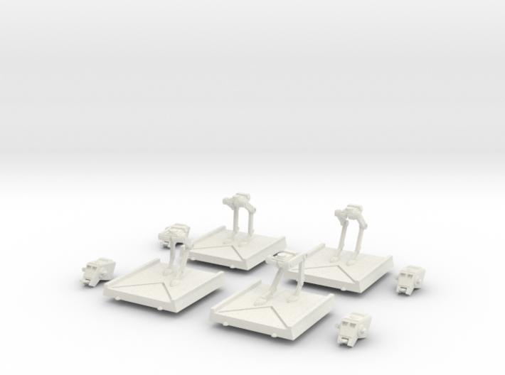 AT-ST Set 3d printed
