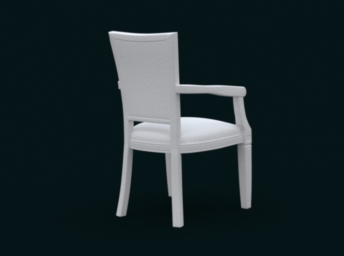 1:10 Scale Model - ArmChair 01 3d printed