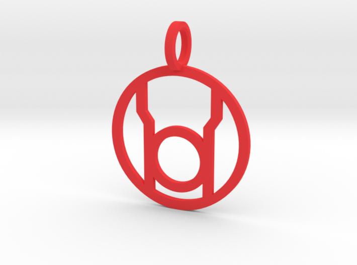 Red Lantern Pendant 3d printed