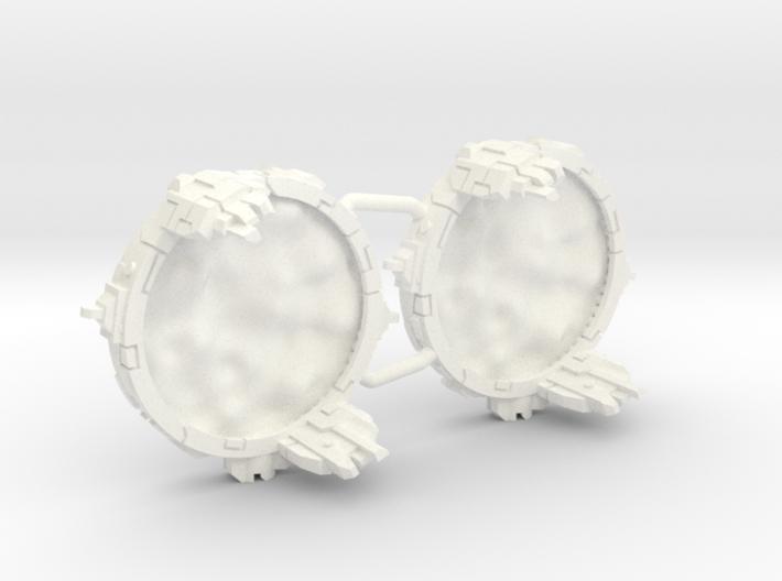Space portals Full (2-4-6 pcs) - Fleet Commander 3d printed