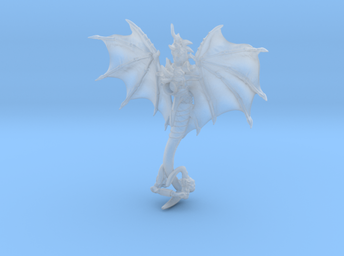 Alien Bug Syren 3d printed