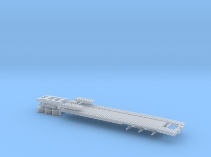 N Gauge Articulated Lorry Low Loader 3d printed