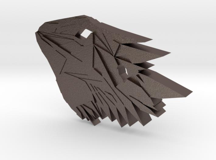 Bearded Dragon Pendant 3d printed