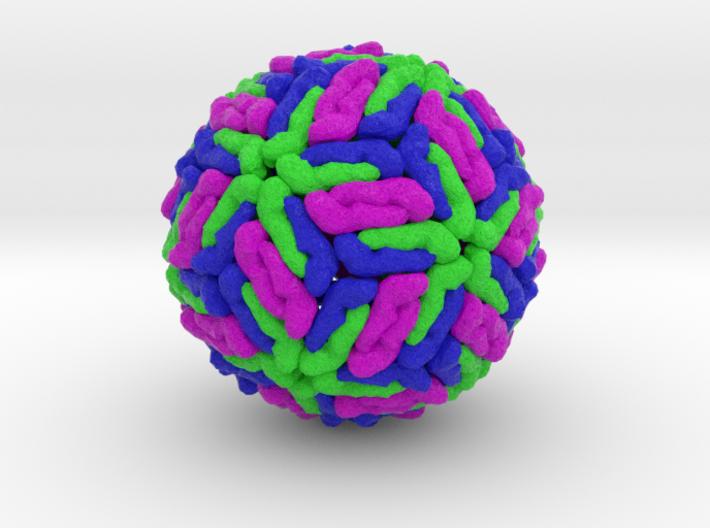 Dengue Virus 3d printed
