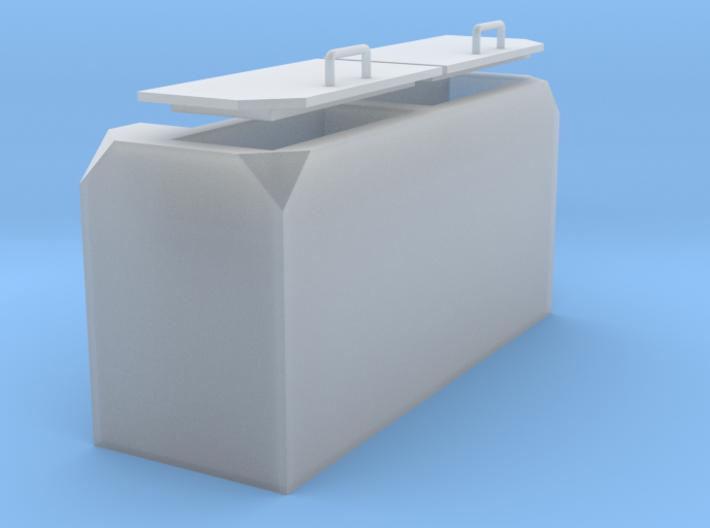 1:32 Claas-Frontgewicht mit Werkzeugfächern 3d printed