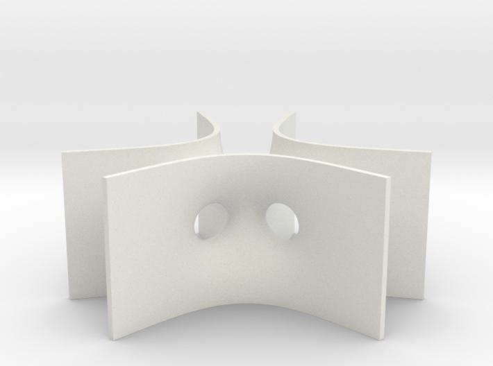 Karcher-Scherk Tower Minimal Surface 3d printed