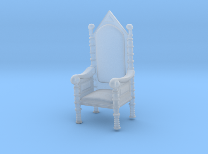 Printle Thing Throne - 1/87 - wob 3d printed