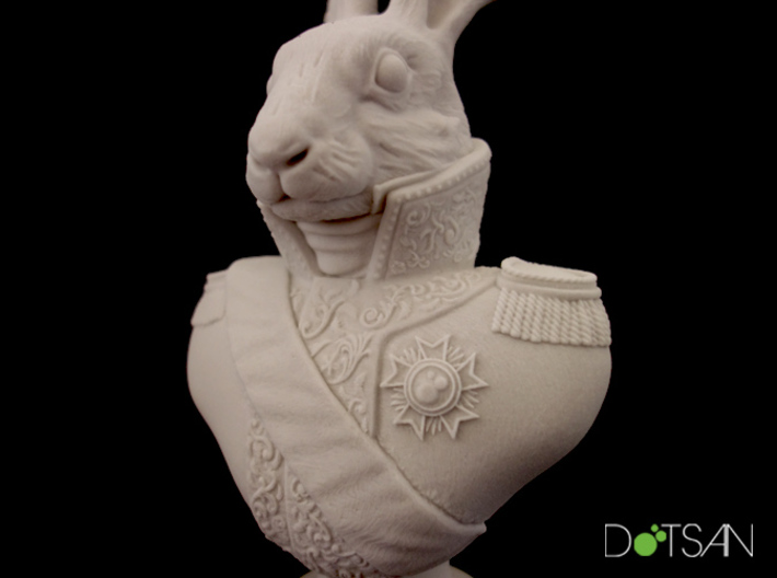 Viscount Hare Bust 3d printed
