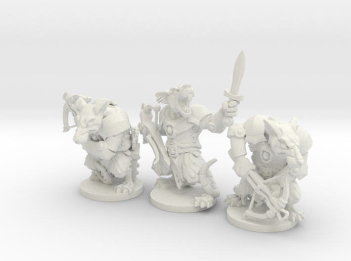 Elite Rat Pack - Mice and mystics 3d printed