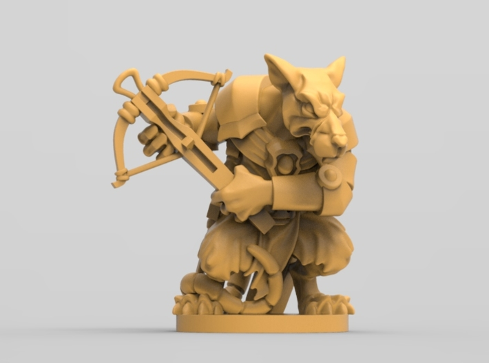 Elite Rat 3 - Mice and mystics 3d printed