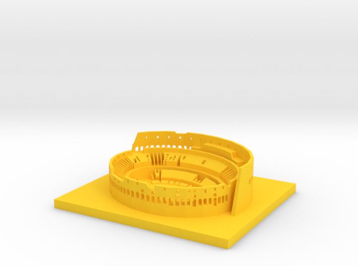 10CM Rome Coliseum Office Desk Art Customizable 3d printed
