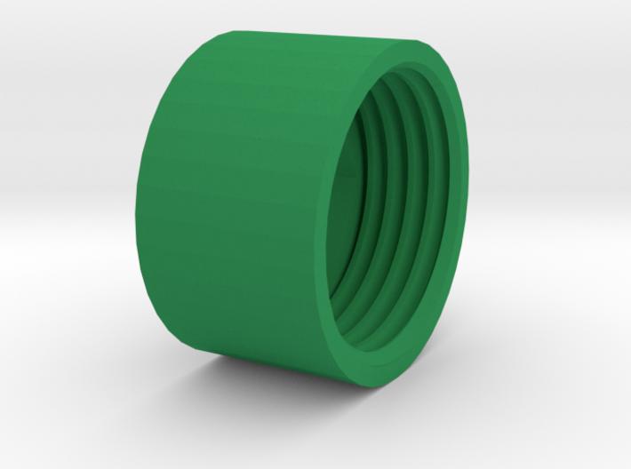 Shock_Cord_Anchor_Cap_Nut 3d printed