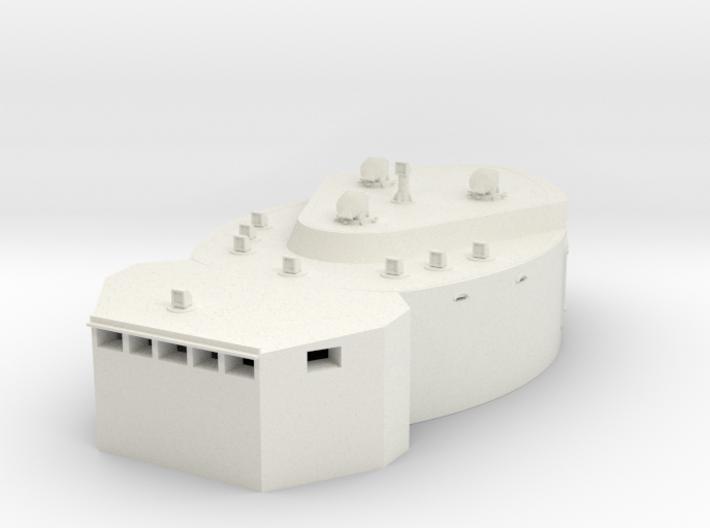 1/100 DKM Scharnhorst-fire control post fore 3d printed