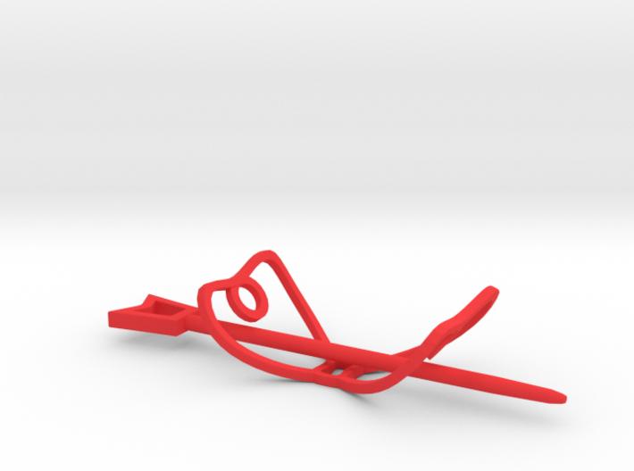 Bow Hair Fastener 3d printed