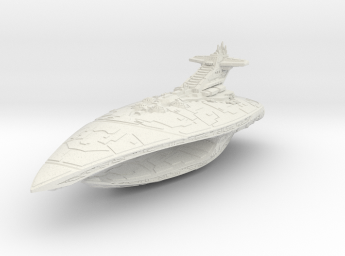 Interdictor Sith Destroyer (1/4000) 3d printed
