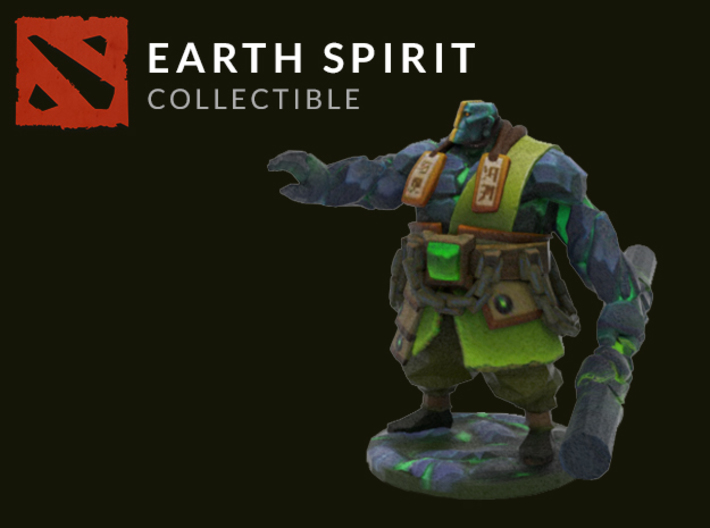 Earth Spirit 3d printed