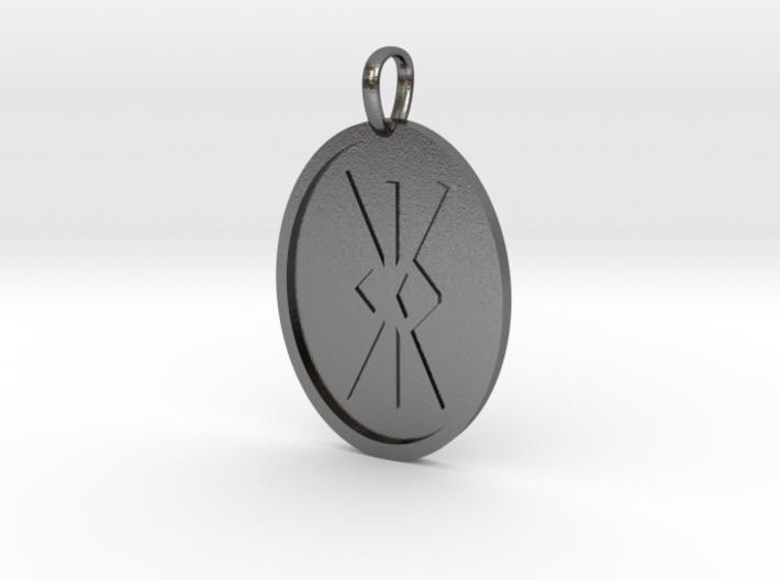 Kalk [kk] Rune (Anglo Saxon) 3d printed