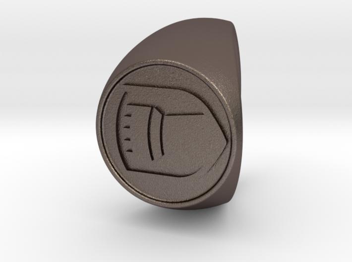 Custom Signet Ring 64 3d printed