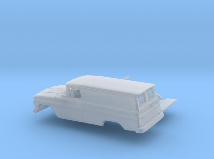 1/87 1962 Chevrolet Panel Van Kit 3d printed
