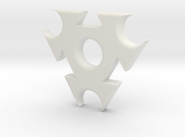Triangle Fidget Spinner 3d printed