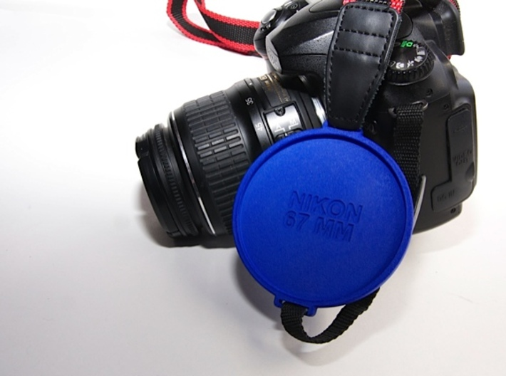 Photo Cap Saver 67 2.0 3d printed