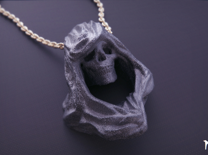 Reaper Pendant 3d printed Chain not included