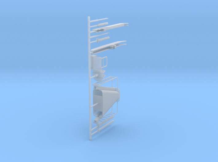 1/50 Prentice log loader crane 3d printed