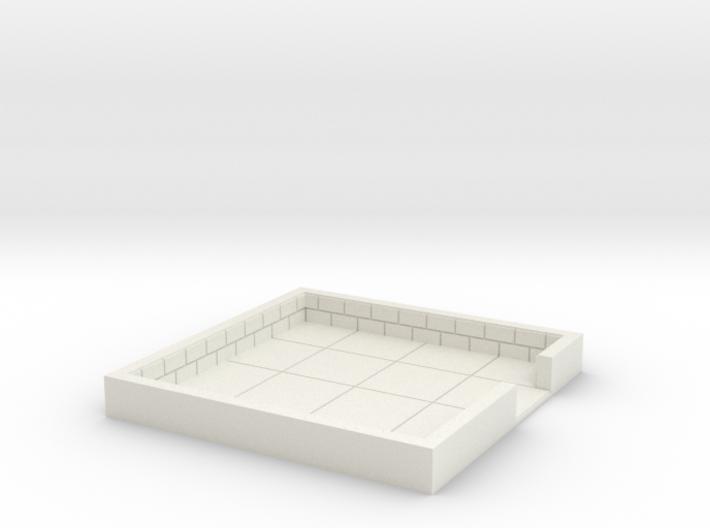 4x4_onedoor_c 3d printed