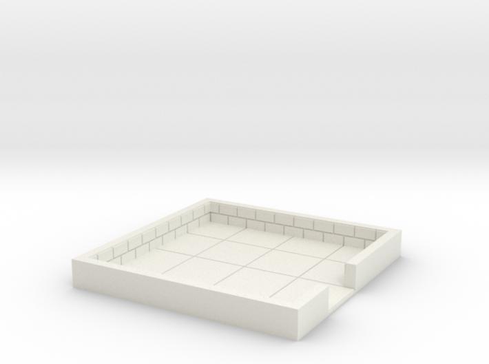 4x4_onedoor_b 3d printed
