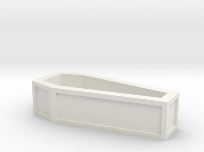 coffin_without_lid 3d printed