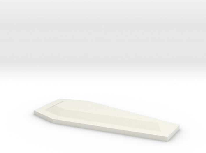 coffin_lid_b 3d printed