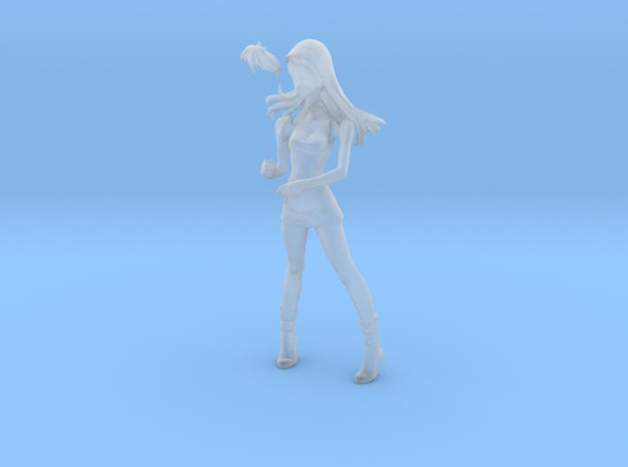 1/24 Race Queen Asuka-15 Umbrella Pose 3d printed