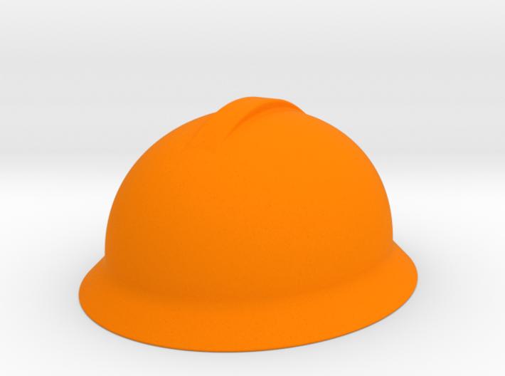 Engineer Hard Hat Miniature 3d printed
