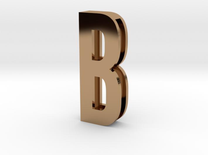 Choker Slide Letters (4cm) - Letter B 3d printed