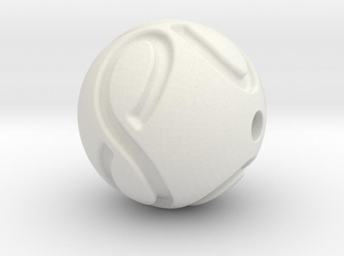 infinite pearl 3d printed